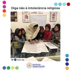 Diga não à intolerância religiosa
