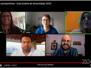 Representantes de movimentos discutem resultados do Guia Exame de Diversidade 2020