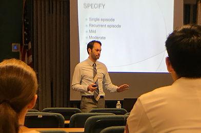presentation highlighting dr matthew robin