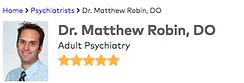 dr matthew robin 5 stars