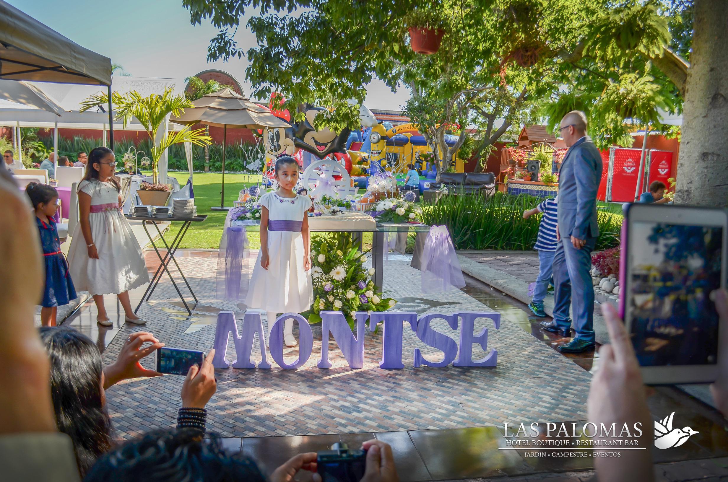 Primera Comunión de Montse.