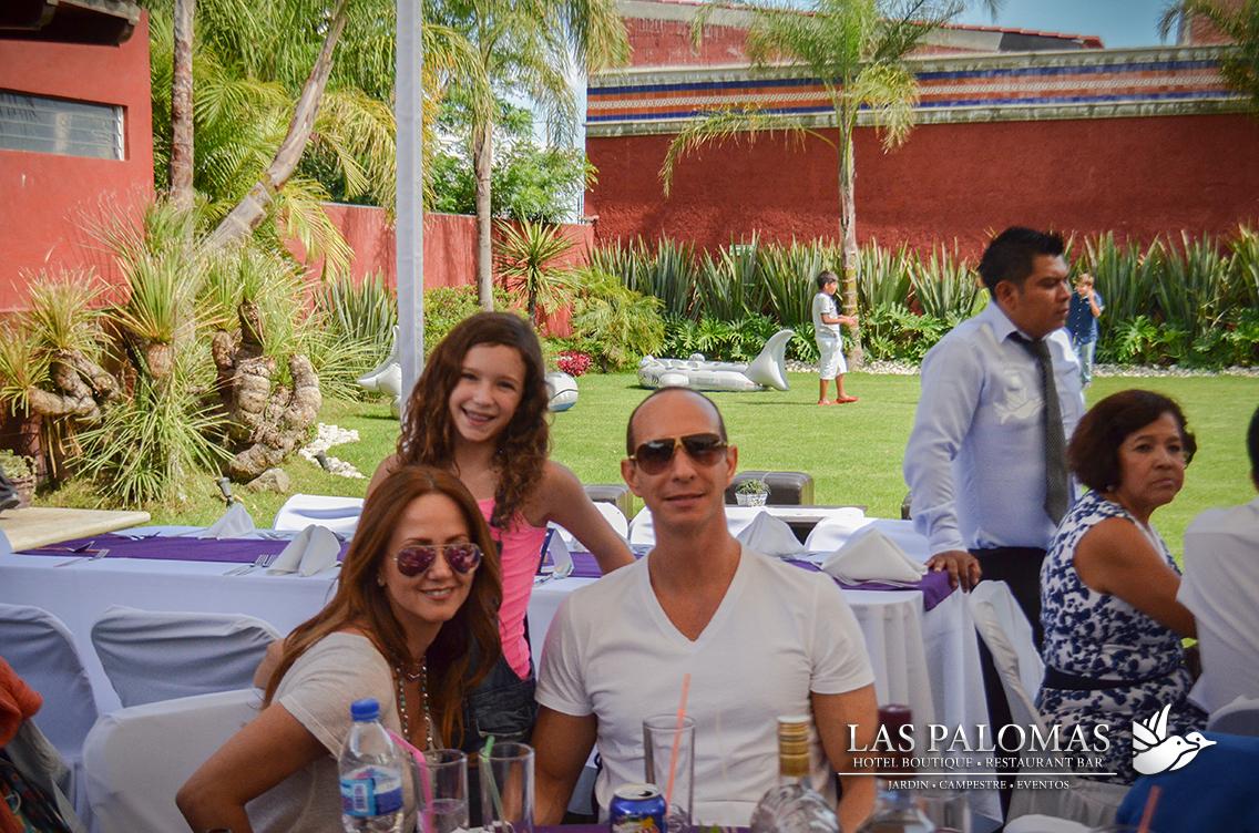 Las Palomas festeja el Día del Padre 2015