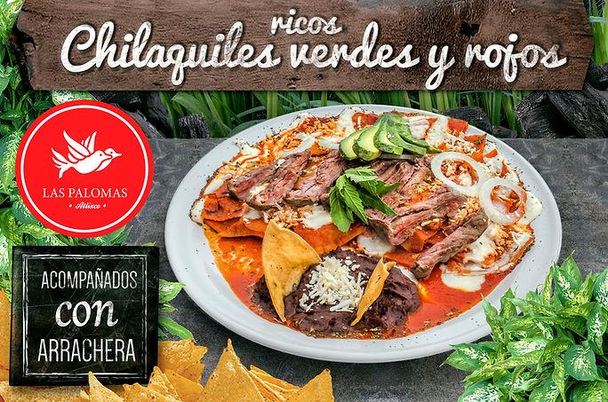 Chilaquile en Las Palomas Atlixco