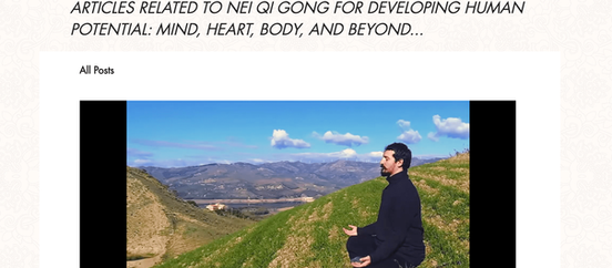 Nei Qi Gong is in Top 25 Qi Gong Blogs of the Web - by Feedspost