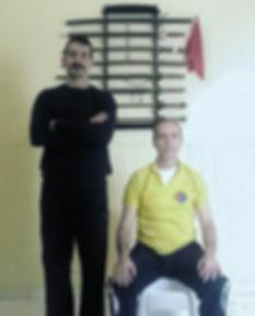 Jiaoshi Andrea Castrogiovanni (Ayan)and Shifu Costantino Valente