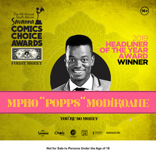 "Mpho ""Popps"" Modikoane 