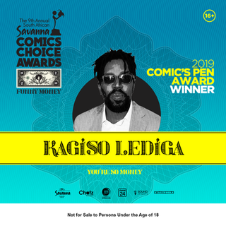 Kagiso Lediga | Comic's Pen Award