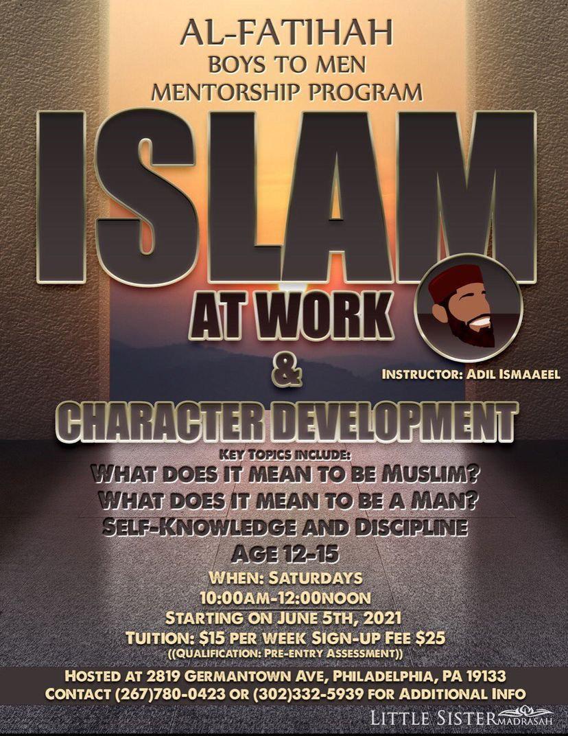 Al Fatihah boys to men mentorship
