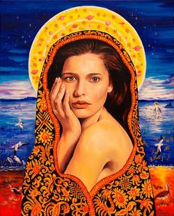 Beautiful madonna