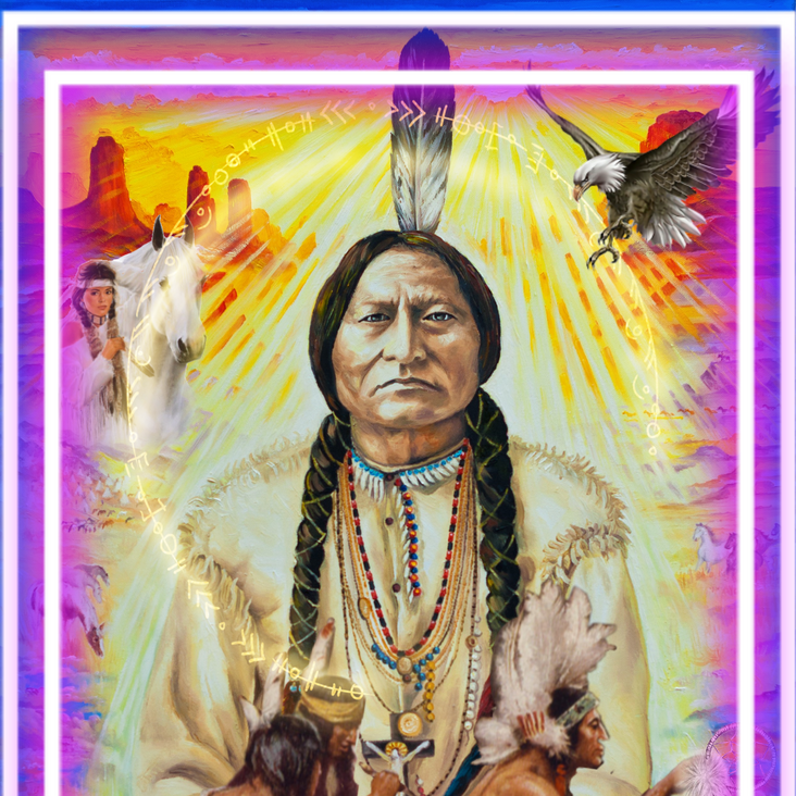 """The message from Chief Sitting Bull ..."""