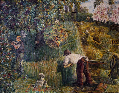 Over grown garden