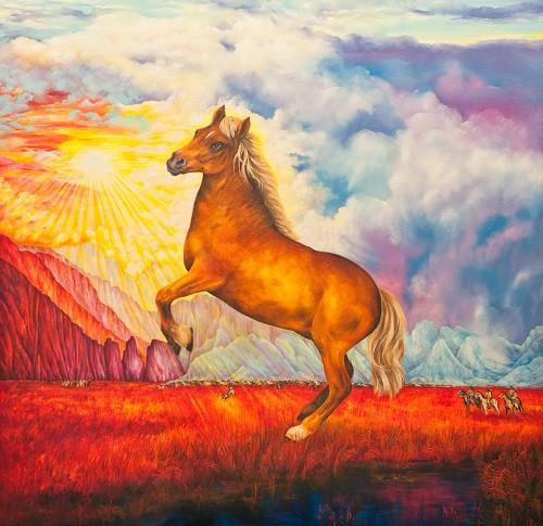 Magic horse from Wallowa valley