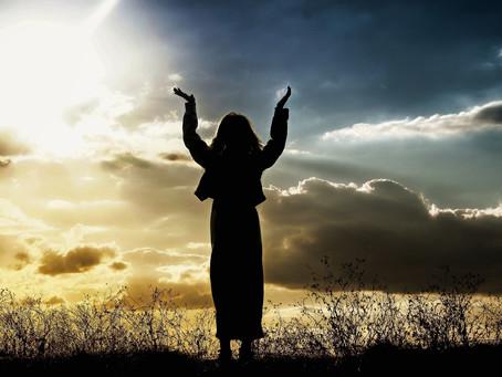 """Faith and Hope can make the sunshine ..."""