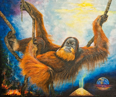 The wise old Orangutan