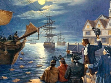 """""""The beginning of another Boston tea party ..."""""""