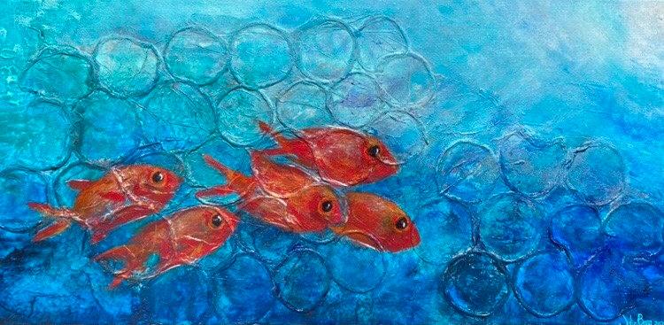 Menpache - Hawaiian Soldierfish