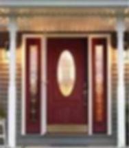 New Decorative Door with Side Panels - American Horizon