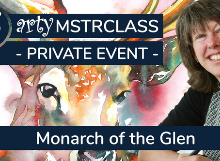 2hrs+ Workshop: Monarch of the Glen with Liz Chaderton