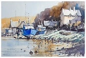 Classical English Harbour Scene