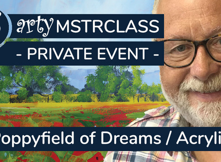 Masterclass: Poppy Field of Dreams in Acrylic