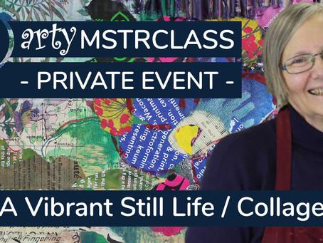 Masterclass: The Vibrant Still Life Collage