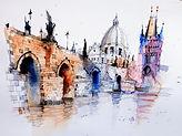 Sketch Charles Bridge