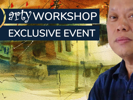 Workshop: Semi-abstract Impression of Boats with Jayson Yeoh