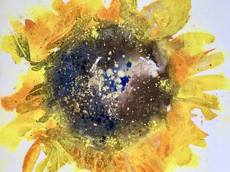 Vibrant Sunflowers with Jane Betteridge