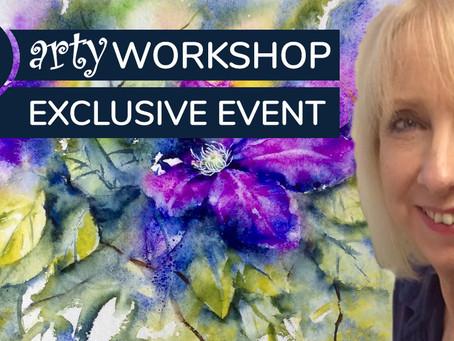 Workshop: Clematis delight with Jane Betteridge