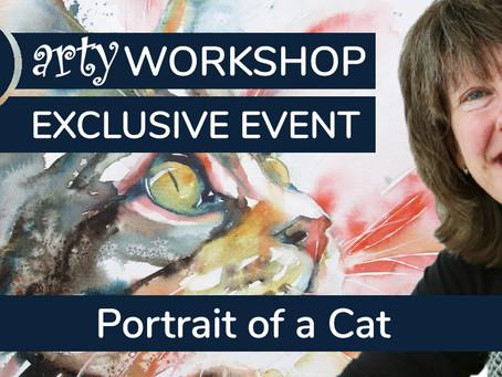 Workshop: Portrait of a Cat with Liz Chaderton