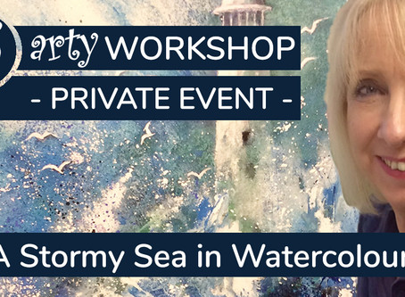 Workshop: Painting a Stormy Sea with Jane Betteridge