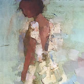 A figure in light and atmosphere