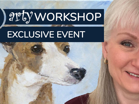 Workshop: 'Larry' the Whippet with Fiona Hooper