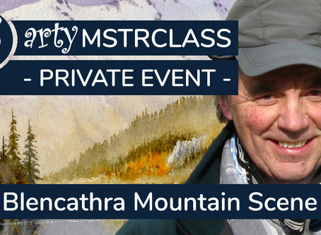 Private Workshop: Emphasising mood & drama in a mountain scene with David Bellamy