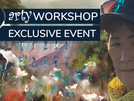 Workshop: A Creative Tuscan Landscape with Keiko Tanabe
