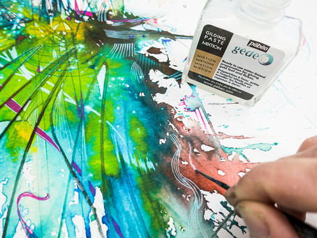 Going Digital using Ink, Tea & IT with Carne Griffiths