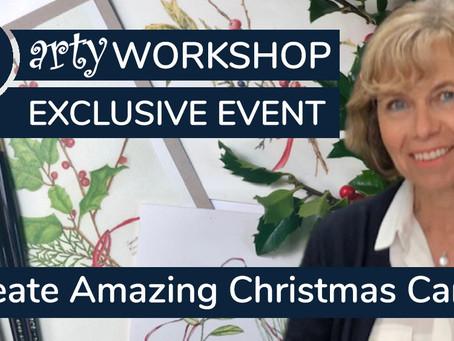 Workshop: Create Amazing Christmas Cards