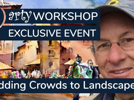 Workshop: Add Crowds to Paintings