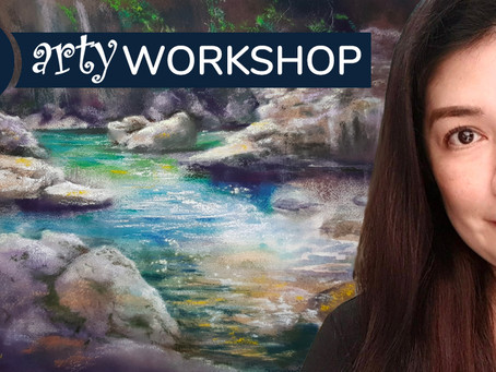 Workshop: Rocky Rivers in Watercolour and Soft Pastel with Iris Babao-Uy