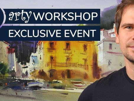 Workshop: Italian Coastal Town with Eugen Chisnicean