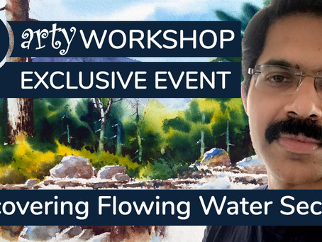 Workshop: Uncovering secrets to painting flowing water