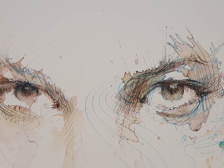 Expressive Portraits in Ink & Tea with Carne Griffiths