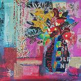 A Vibrant Still Life Collage