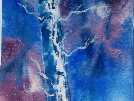 Paint a Silver Birch with Jane Betteridge