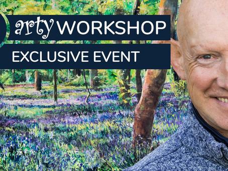 Workshop: Light and Shade through Woodland Bluebells with Robert Dutton