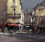 Painting Light in Paris