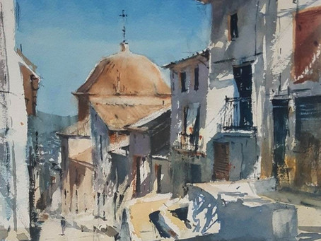 Arty Special: Down the street of Xativa with Michal Jasiewicz