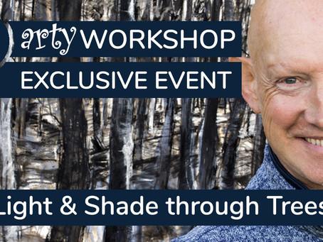 Workshop: Light & Shade through Autumn Woodland Trees