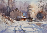 Winter Station - through Light and Air