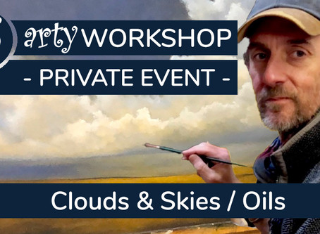 Masterclass: Realistic Clouds & Skies with Oils